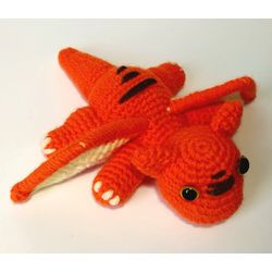 Knitted toy Little Dragon buy
