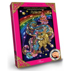 Craft Kit Paillettes Art PONEY