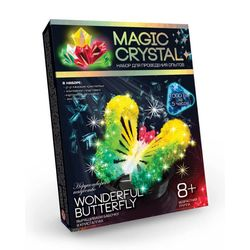 WONDERFUL BUTTERFLY Crystal Growing Experiment Kit