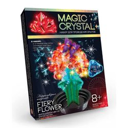 Kit FIERY FLOWER growing crystals