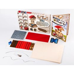 "Kit for boy ""The Well"" build and play Gift for children 6 years and older"