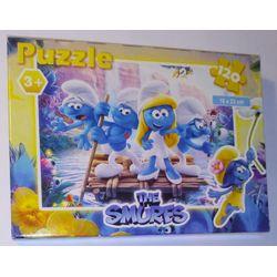 Les schtroumpfs - Puzzle 120 pièces