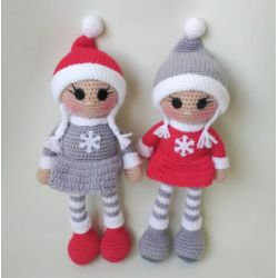 Handmade Knitted Doll for girls buy