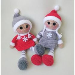 Handmade Knitted Doll for girls
