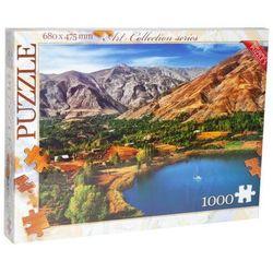 Mountain landscape - 1000 piece jigsaw puzzles