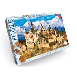 Castle Hohenzollern - 1000 piece jigsaw puzzles