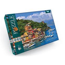 1000 Puzzle - Hafen von Portofino, Provinz Genua, Italien