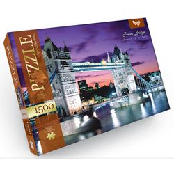 Tower Bridge, Thames river in London, England - Puzzle