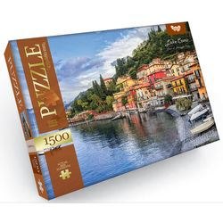 1500 Puzzle - Jake Como, Stadt Menaggio, Italien