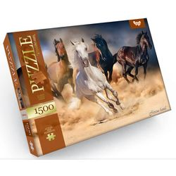 Pferdeherde Klassisches Puzzle kaufen