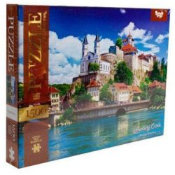 Aarburg Castle, Switzerland - 1500 piece puzzle buy