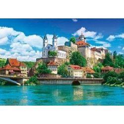 Пазлы Замок Аарбург, Швейцария - 1500 шт