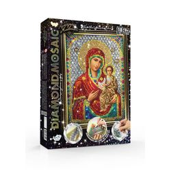 Diamond painting kit ICON OF OUR LADY - by numbers 30*20 cm