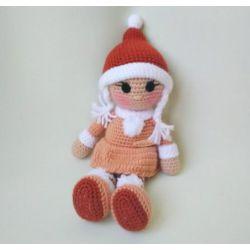 Кукла крючком Герда