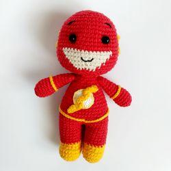 Crochet toy Flash