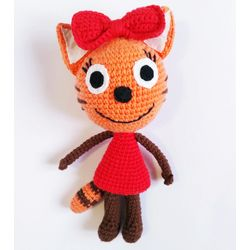 Knitted toy CARAMEL
