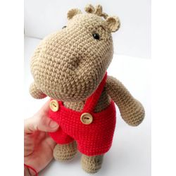 Jouet tricoté HIPPO TIMA acheter pour les enfants