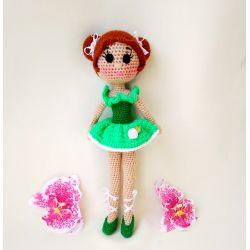 Gestrickte Ballerina Puppe kaufen
