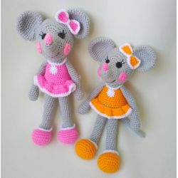Amigurumi Mouse-girl buy