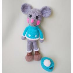 Amigurumi Mouse-boy buy