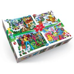 Puzzle-Set for kids, 4 in Box buy
