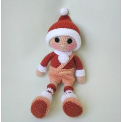 Knitted doll KAY
