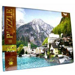 ALPINE TOWN, Hallstatt, Austria, Classic Puzzle Series 1500 pieces