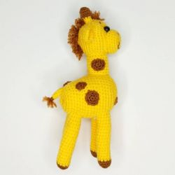 Handmade crocheted Giraffe toy buy