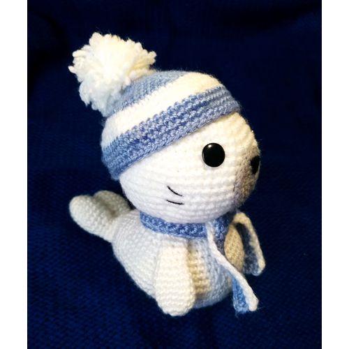Jouet tricoté PETIT PHOQUE