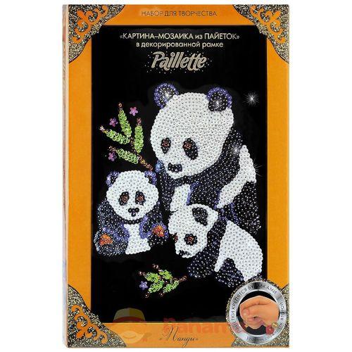 """Kit de Bricolage """"Pandas à Paillettes"""""""