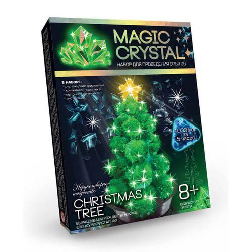ЗЕЛЕНАЯ РОЖДЕСТВЕНСКАЯ ЕЛОЧКА набор для опытов с кристаллами