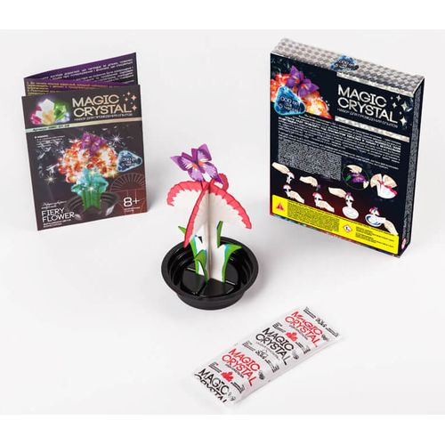 Kit FIERY FLOWER growing crystals buy