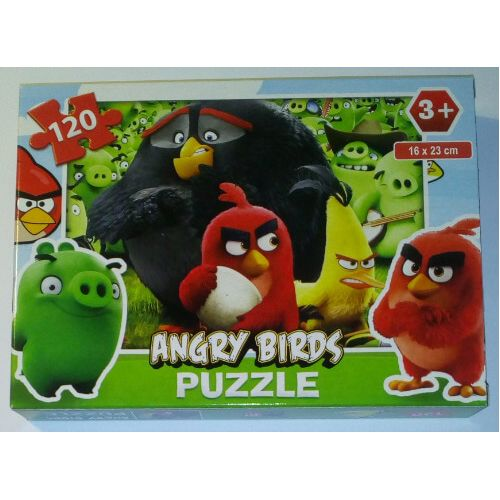 ANGRY BIRDS Puzzle for children 120 pieces