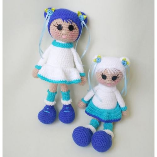 "Crochet doll ""North Girl"""