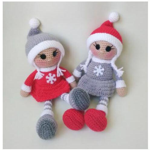 Handmade Knitted Doll for girls
