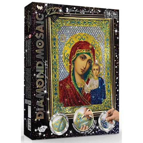 Diamond painting kit ICON OF OUR LADY 30*40 cm