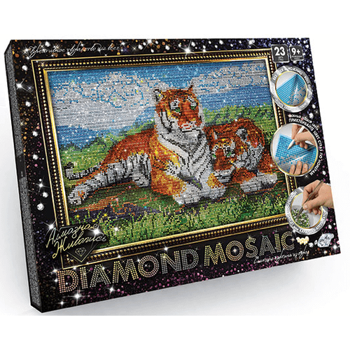 Tigers - Diamond Painting Kit