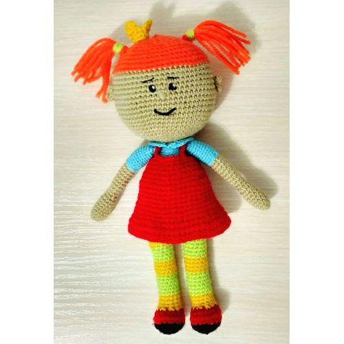 Knitted doll Tsarevna