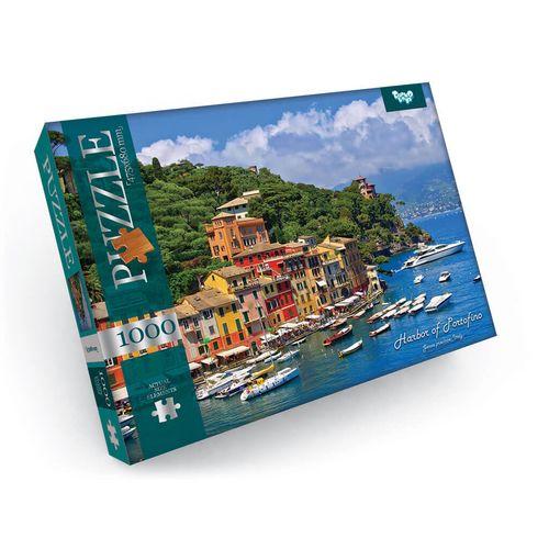 1000 Puzzle - Port de Portofino, province de Gênes, Italie