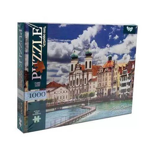 1000 piece puzzles - Jesuit Church, Lucerne, Switzerland buy