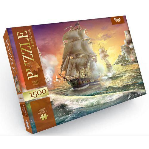 SCHLACHT DER SCHIFFE Klassische Puzzleserie 1500 Teile