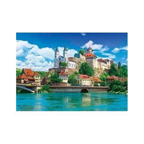 Aarburg Castle, Switzerland - 1500 piece puzzle
