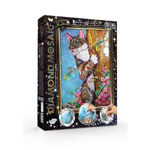 Cat on a tree - Paint with Diamonds Kit buy