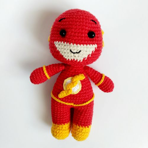 Crochet toy Flash