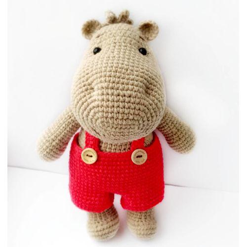 Jouet tricoté HIPPO TIMA de dessin animé acheter