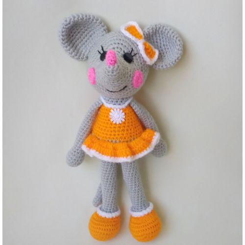 Amigurumi Mouse-girl