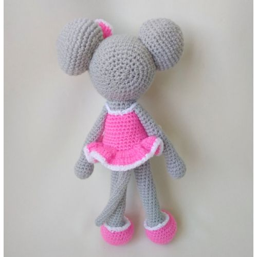 Crochet toy Mouse-Girl