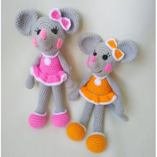Amigurumi Mouse-girl buy