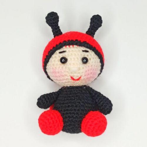 Handmade Crochet Ladybug Toy buy online