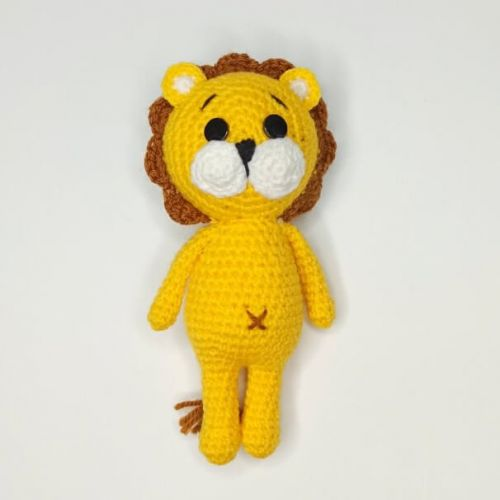 Lion Crochet Toy buy
